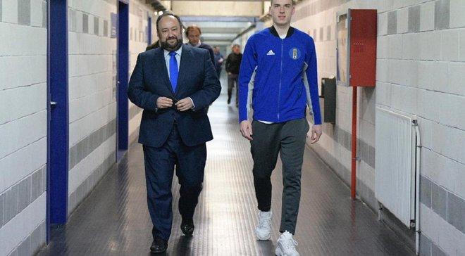 Спортивний директор Ов'єдо пояснив, чого очікує від Луніна