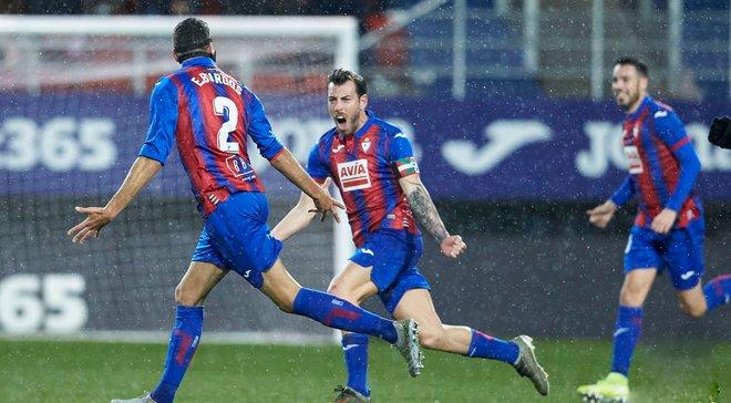Ейбар одержал сенсационную победу над Атлетико, Осасуна расписала ничью с Вальядолидом: 20-й тур Ла Лиги, матчи субботы