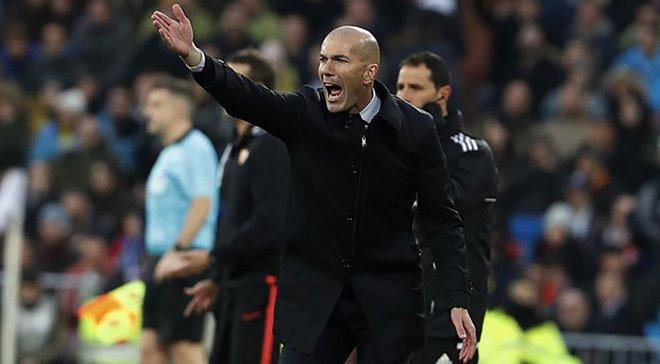Зідан – про скасований гол у ворота Реала: Не потрібно жалітись, це було очевидне блокування