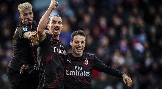 Ибрагимович одержал 150 побед быстрее всех в Серии А – форвард Милана обошел легенду Интера