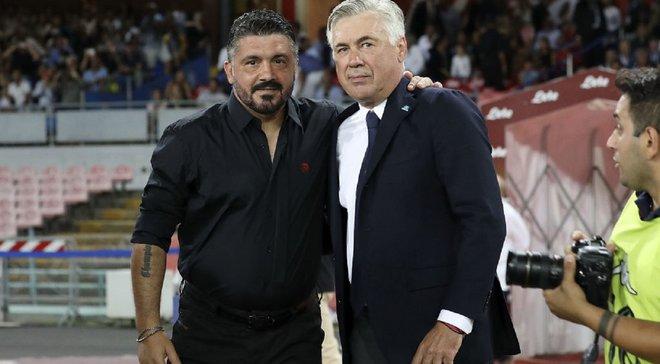 Де Лаурентис разочаровался в Гаттузо – президент Наполи хочет вернуть Анчелотти