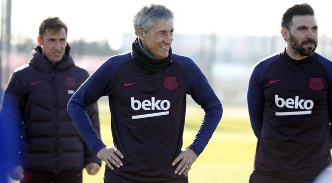 Сетьен отменил в Барселоне выходные, которые запланировал Вальверде