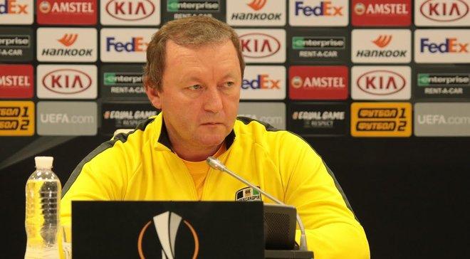 Шаран раскритиковал УПЛ из-за возможной отмены плей-офф за еврокубки