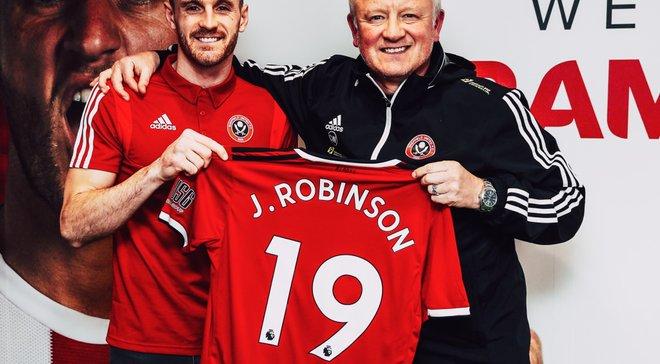 Шеффилд Юнайтед подписал экс-защитника Ливерпуля Робинсона