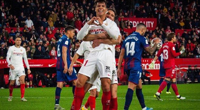 Кубок Іспанії: Севілья впевнено здолала Леванте, Мальорка програла Сарагосі, Осасуна дотиснула Рекреатіво
