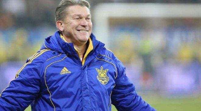 Блохин надеется, что сборная Украины найдет общий язык с клубами УПЛ относительно календаря последних туров
