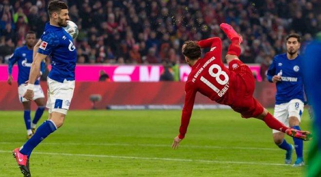 Майстерний гол Горецки у відеоогляді матчу Баварія – Шальке – 5:0