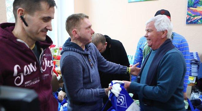 Динамо передало помощь раненым в АТО