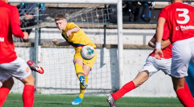Барселона продала 16-річного форварда в клуб АПЛ