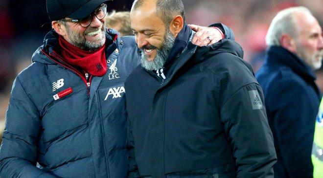 Эшпириту Санту похвалил своих подопечных за игру против Ливерпуля