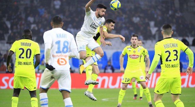 Ліга 1: Монако поступився Страсбуру, Марсель втратив очки у поєдинку з Анже, дубль Хазрі приніс перемогу Сент-Етьєну