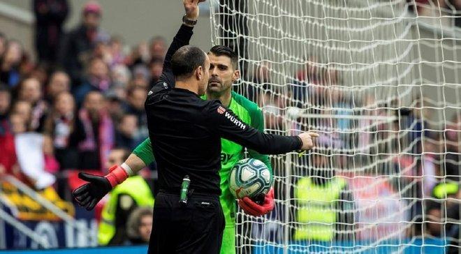 Обидчик Лунина заработал резонансное удаление в матче против Атлетико