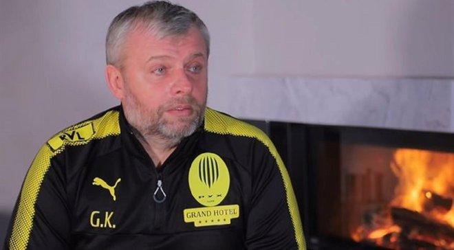 """""""Некоторые игроки с такими щеками приехали"""", – Козловский не уверен, что весь состав Руха придерживался режима"""