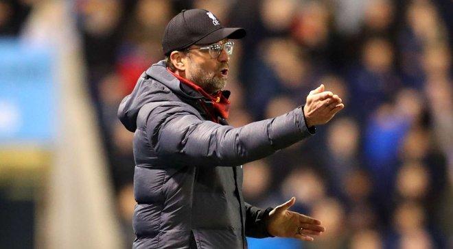 Клопп заявив, що Ліверпуль отримає відпустку замість перегравання в Кубку Англії