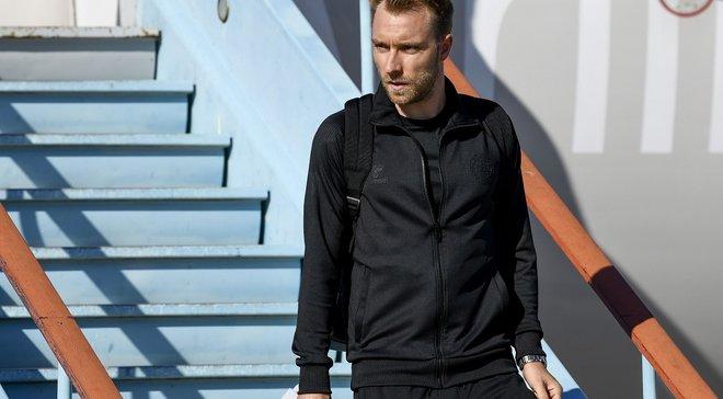 Эриксен прибыл на медосмотр в Интер – датчанин заявил, что рад находиться в Милане