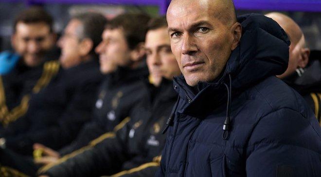 Зидан заявил, что его не волнует лидерство Реала в Ла Лиге
