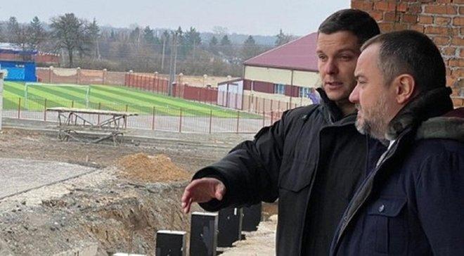 Колос у наступному сезоні виступатиме на новому стадіоні – УАФ проінспектувала арену, яку будують у Ковалівці