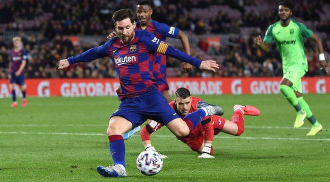 Барселона разгромила Леганес: стильный выход в четвертьфинал Кубка Испании, сырость проекта Сетьена и вечеринка Месси