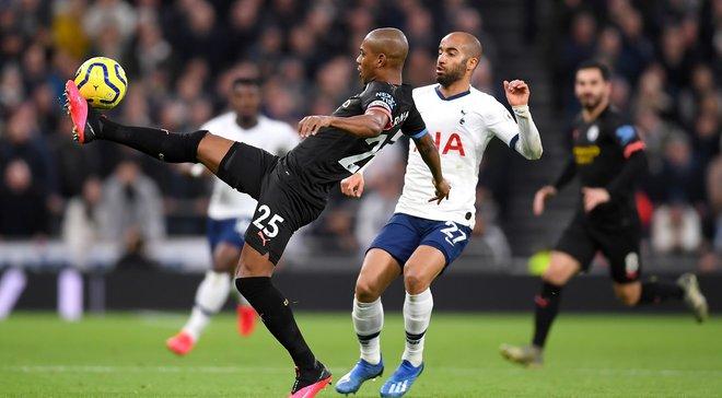 Фатальне вилучення Зінченка у відеоогляді матчу Тоттенхем – Манчестер Сіті – 2:0