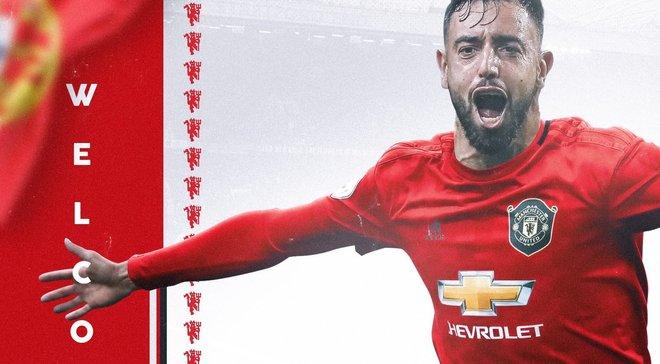 Манчестер Юнайтед офіційно домовився про трансфер Бруну Фернандеша