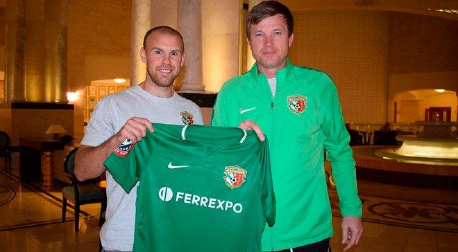 Опанасенко став гравцем Ворскли