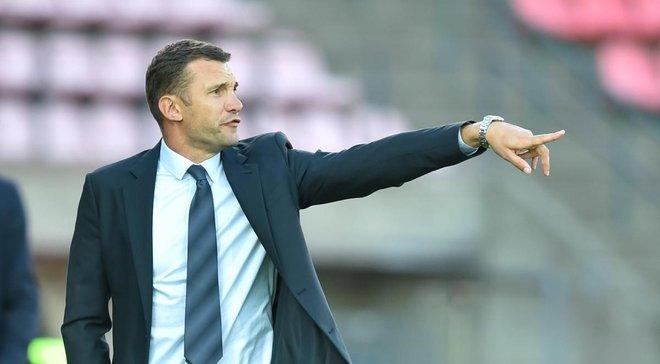 Шевченко назвал главные критерии выбора игроков на контрольные матчи против Франции и Польши