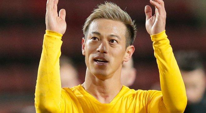 Хонда став гравцем Ботафого – бразильський клуб оригінально презентував новачка