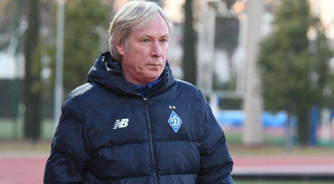 Михайличенко оцінив роботу молодих гравців Динамо на першому тренувальному зборі
