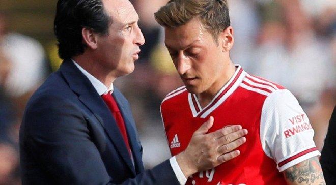 Озіл – не топ-футболіст, – Емері назвав недоліки зірки Арсенала