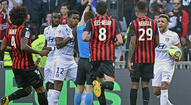 Лион неожиданно уступил Ницце, Марсель расписал ничью с Бордо: Лига 1, матчи воскресенья