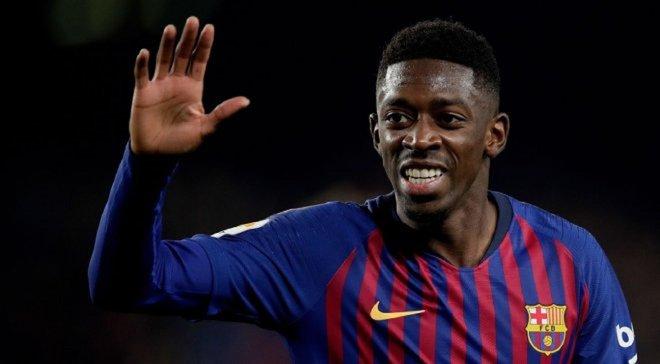 Барселона розпочала термінові пошуки нового форварда після травми Дембеле