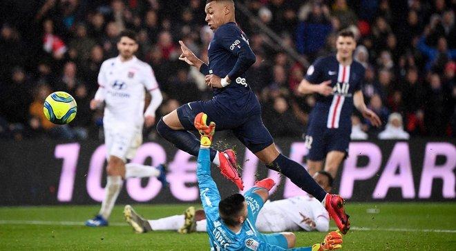ПСЖ без Неймара перестрелял Лион, Сент-Этьен потерпел третье поражение подряд: Лига 1, матчи воскресенья
