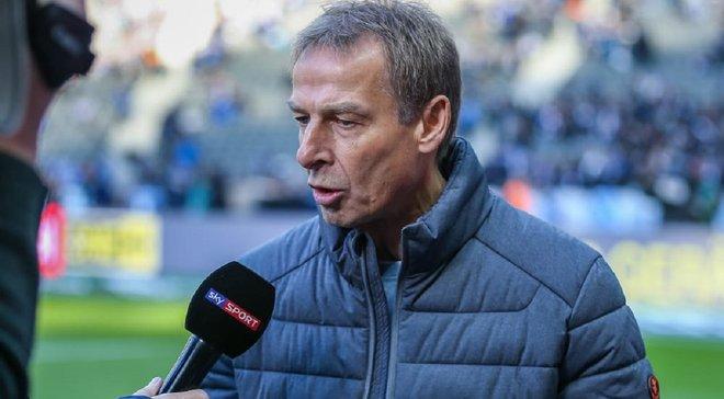 Клінсманн назвав причини свого відходу з Герти – тренер не протримався в Берліні й трьох місяців