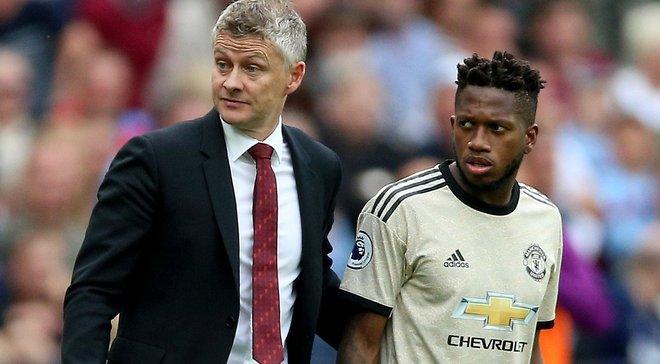 Сульшер відреагував на критичні висловлювання Фреда про гравців Манчестер Юнайтед