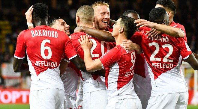 Монако, обігравши Монпельє, здобув третю перемогу поспіль і наблизився до лідерів