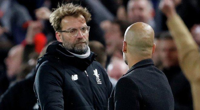 Клопп прокоментував відсторонення Манчестер Сіті Зінченка від єврокубків