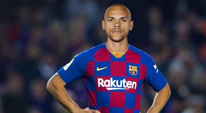 Барселона офіційно оголосила про підписання Брейтвейта