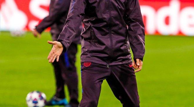 «Барселона» и«Наполи» расписали мировую впервой игре 1/8 финала Лиги чемпионов