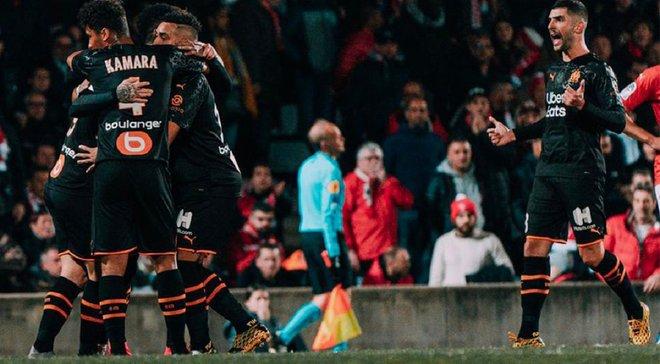 Лига 1: Марсель благодаря хет-трику Бенедетто на выезде одолел Ним