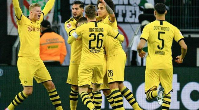 Дортмунд обіграв Гладбах і вистрибнув на друге місце Бундесліги – поява Санчо вирішила долю рівного дербі Борусій