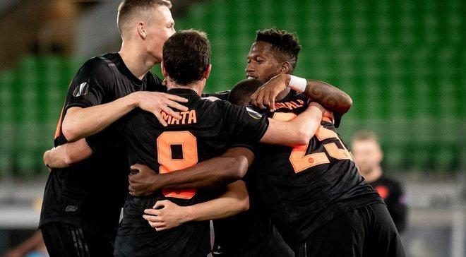 Тотальна домінація Манчестер Юнайтед і Базеля, але без Шахтаря – символічна збірна тижня в Лізі Європи