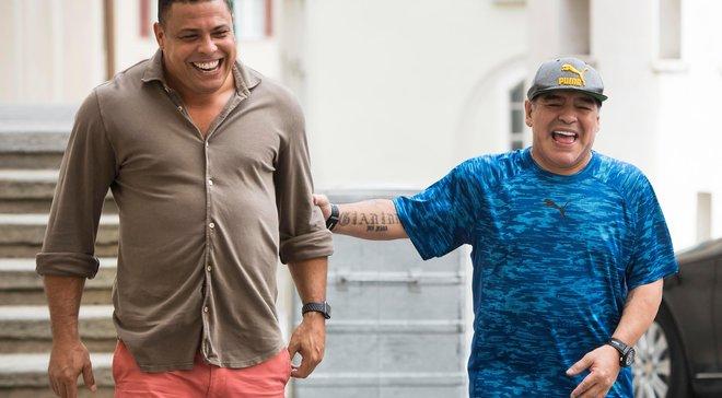Марадона та Роналдо обрали найкращі голи своєї кар'єри – зірки підтримали новий челендж