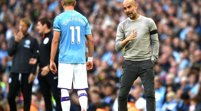 """Гвардіола має вирішення """"вічної"""" проблеми Манчестер Сіті – Зінченко та Менді ризикують втратити позиції"""